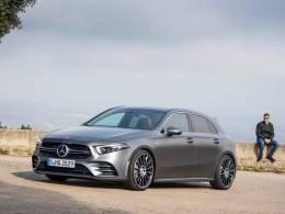Mercedes-AMG A 35 4MATIC: Το νέο μοντέλο ανοίγει μια πύλη στον κόσμο της οδηγικής απόλαυσης (photos & vid)